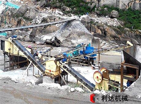 广州300t/h鹅卵石制砂生产线