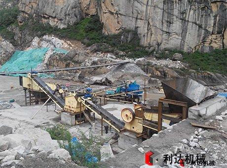河南洛阳煤矸石石料生产线