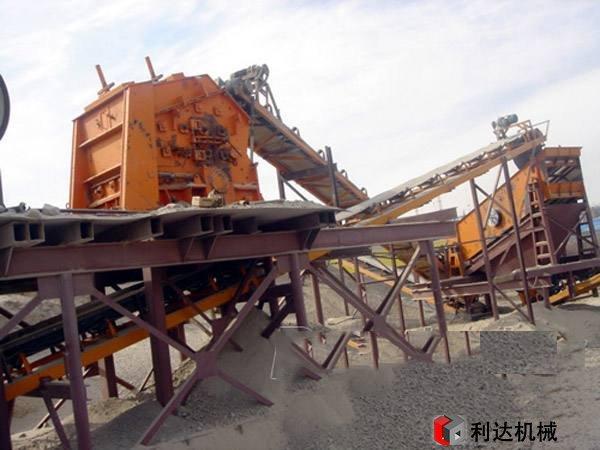 山西全套制砂机设备生产现场